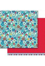 Dare 2B Artzy Bright Blooms Paper 12x12
