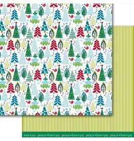 Dare 2B Artzy O' Christmas Tree Paper 12x12
