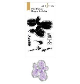ALTENEW Mini Delight: Happy Birthday Stamp & Die Set