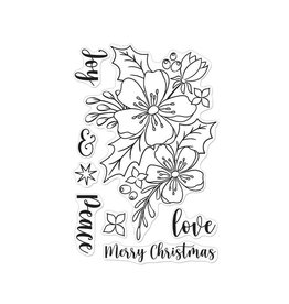 Hero Arts Christmas Rose Clear Stamps