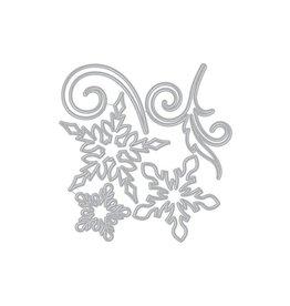 Hero Arts Large Snowflakes and Swirls Dies