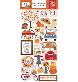 Echo Park Fall Collection - Chipboard Embellishments - Phrases