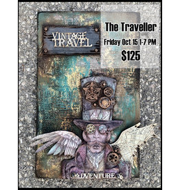 Stamperia The Traveller October 15