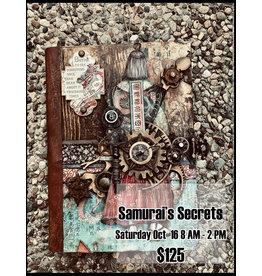 Stamperia Samurai's Secrets October 16