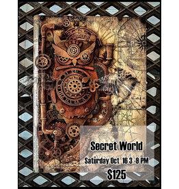 Stamperia Secret World October 16
