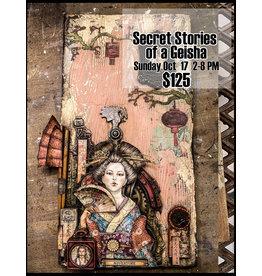 Stamperia Secret Stories of A Geisha October 17