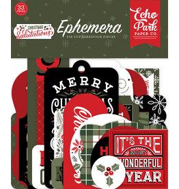 Echo Park Salutations Christmas Ephemera