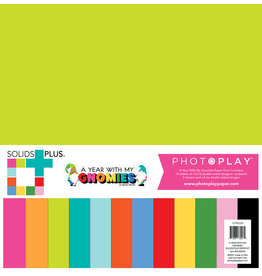 PHOTOPLAY Gnomies Calendar - Solids + Paper Pack