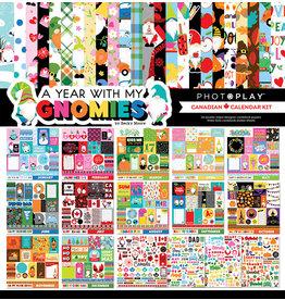 PHOTOPLAY Gnomies  Calendar - Canadian Calendar Kit