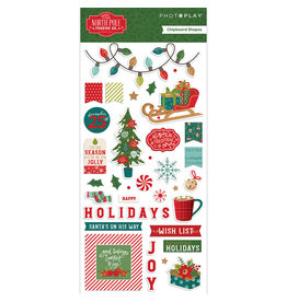 PHOTOPLAY North Pole Trading Co. - 6x12 Chipboard