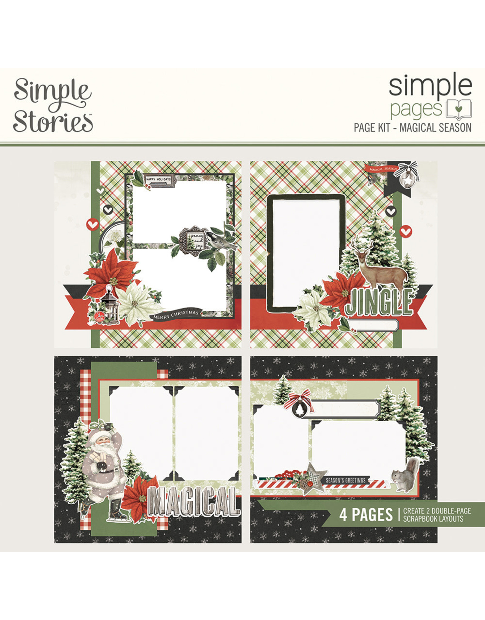 Simple Stories Simple Pages Kit - Magical Season