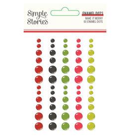 Simple Stories Make it Merry - Enamel Dots