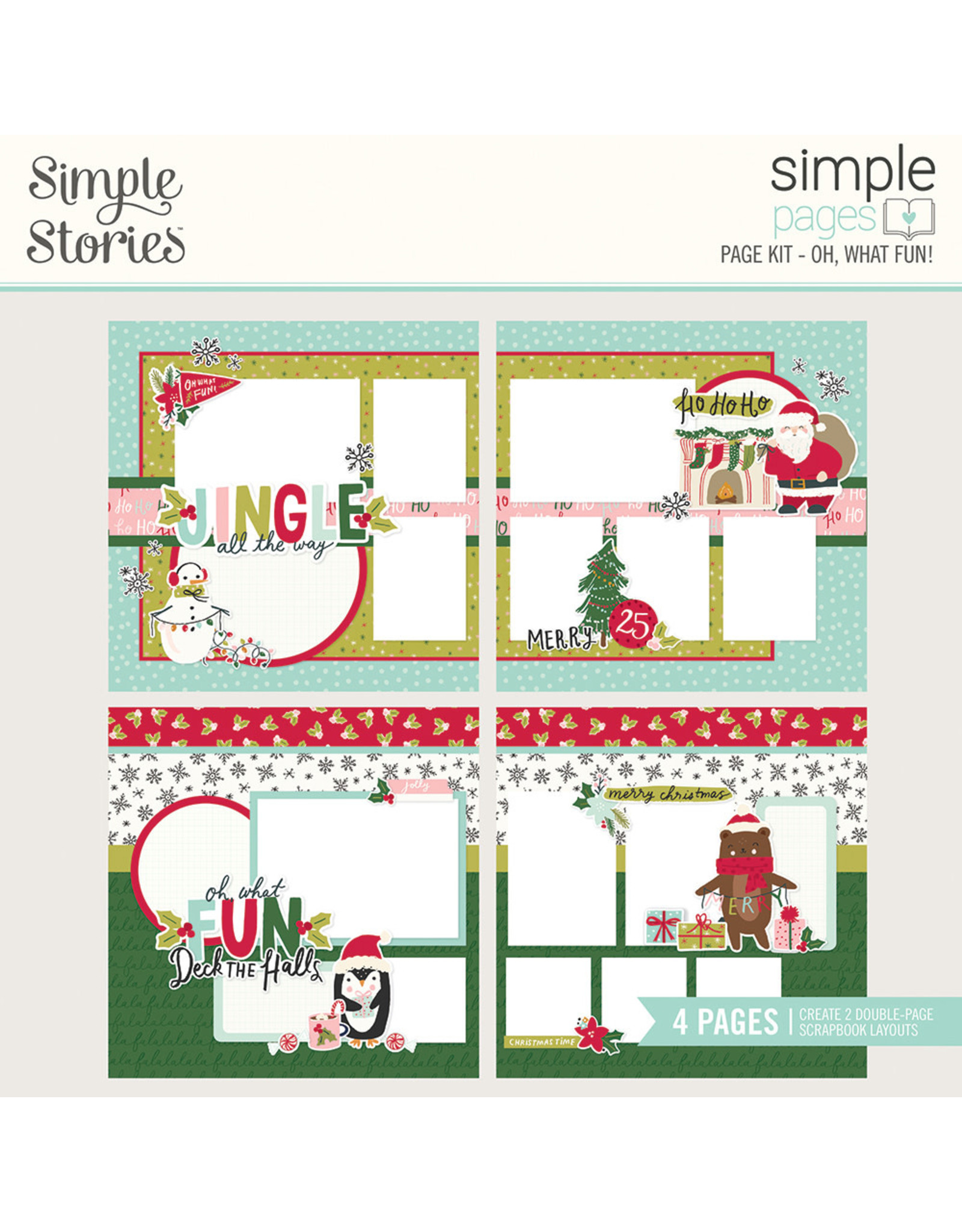 Simple Stories Simple Pages Page Kit - Oh, What Fun!