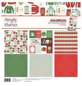 Simple Stories Ugly Christmas Sweater - Collection Kit
