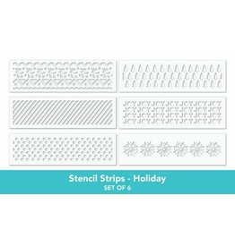 Taylored Expressions Stencil Strips- Holiday