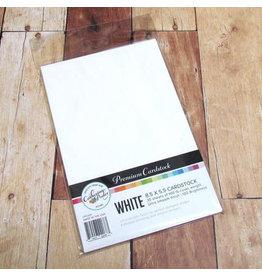 Catherine Pooler Designs Catherine Pooler White Cardstock Scored Half