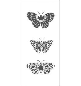 THE CRAFTERS WORKSHOP Monarch Trio Slimline Stencil