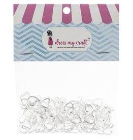 DRESS MY CRAFT HEART ASSORTED-WATER DROPLETS