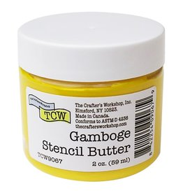 THE CRAFTERS WORKSHOP GAMBOGE -STENCIL BUTTER 2OZ
