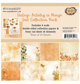 49 AND MARKET 6X6 PACK-VA IN MANGO COLLECTION