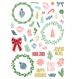 LDRS Creative Peace & Joy - Pirouette 6x8 Stamp