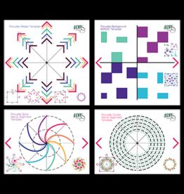 LDRS Creative Pirouette Pattern Templates