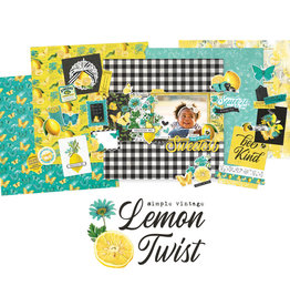 Simple Stories Lemon Twist Layout Kit