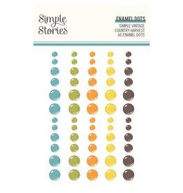 Simple Stories Simple Vintage Country Harvest- Enamel Dots
