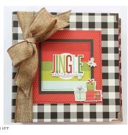 Simple Stories Make it Merry Christmas Album  Kit