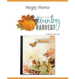 Simple Stories Country Harvest  Flipbook Kit