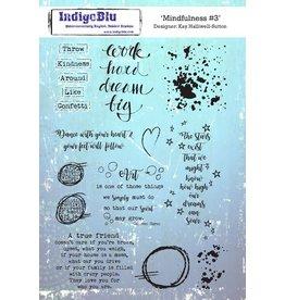 IndigoBlu Mindfulness III Stamp