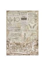 Stamperia A3 Rice Paper- Sir Vagabond