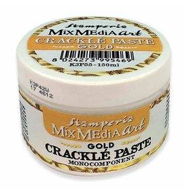 Stamperia Crackle Paste Gold 150ml