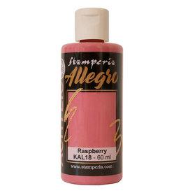 Stamperia Allegro Acrylic Paint Raspberry
