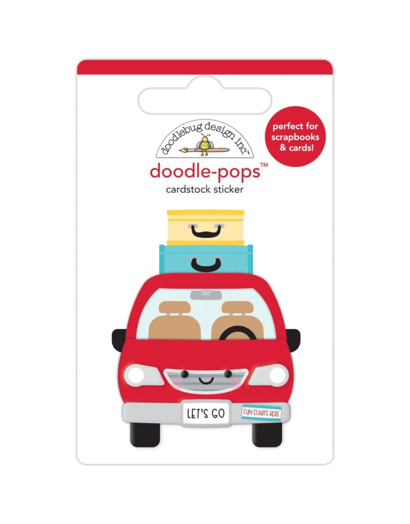 Doodlebug Design are we there yet doodle-pops