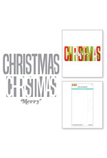 Spellbinders Be Bold Color Block Christmas