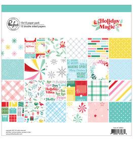 PINKFRESH STUDIO Holiday Magic: 12 x 12 Paper Pack
