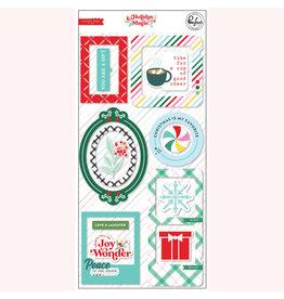 PINKFRESH STUDIO Holiday Magic: Chipboard Frames