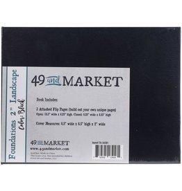 49 & Market Foundations 6x8 Black-Album Landscape