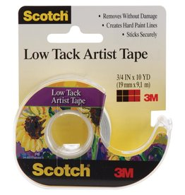 Scotch White-Low Tack Artist Tape