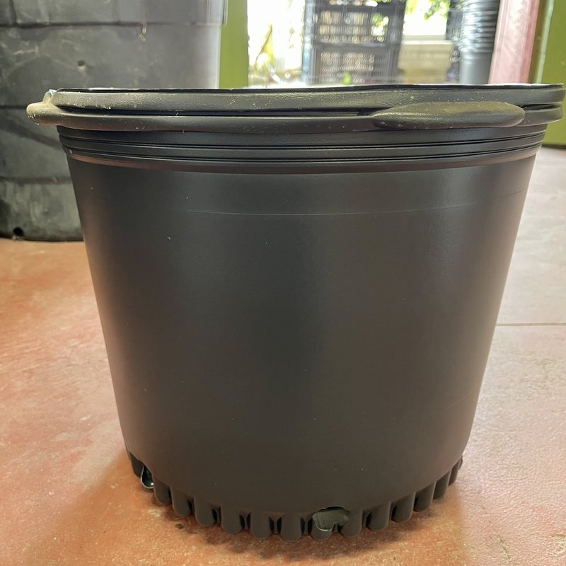 BLACK PLASTIC NURSERY 7 GALLON