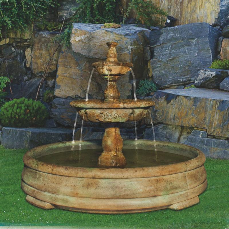 Henri Small Tazza Tier Fountain