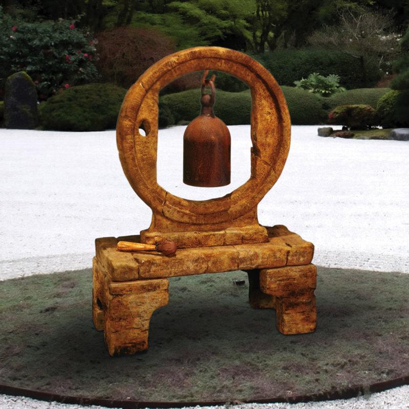 Henri Circle Garden Bell