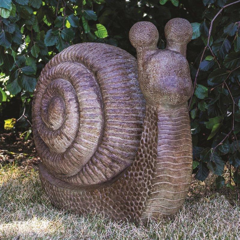 Henri Concrete Garden Snail