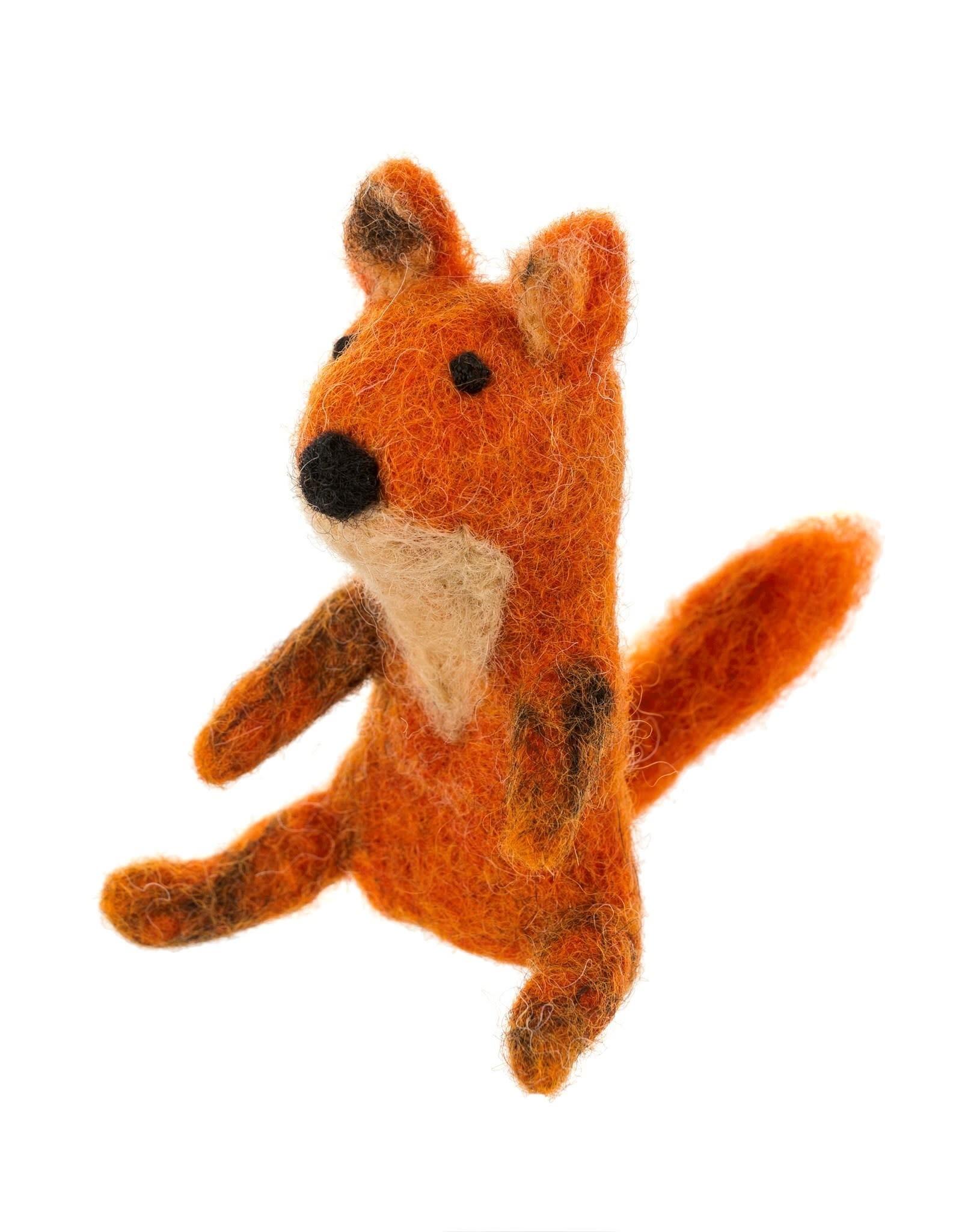 Fox Trot Finger Puppet