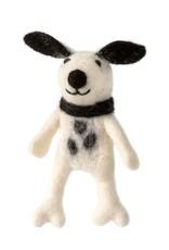 Spotty Dog Finger Puppet