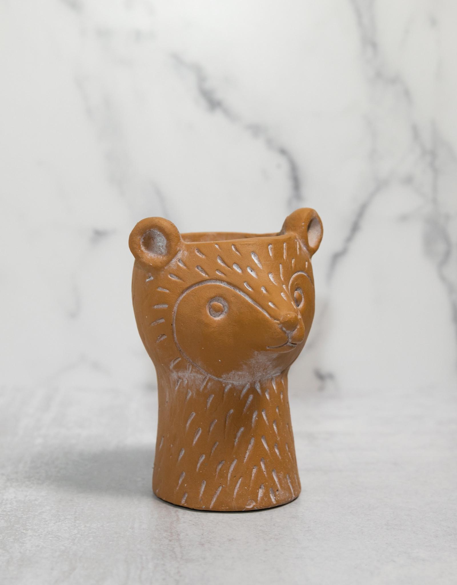 Bear Head Planter
