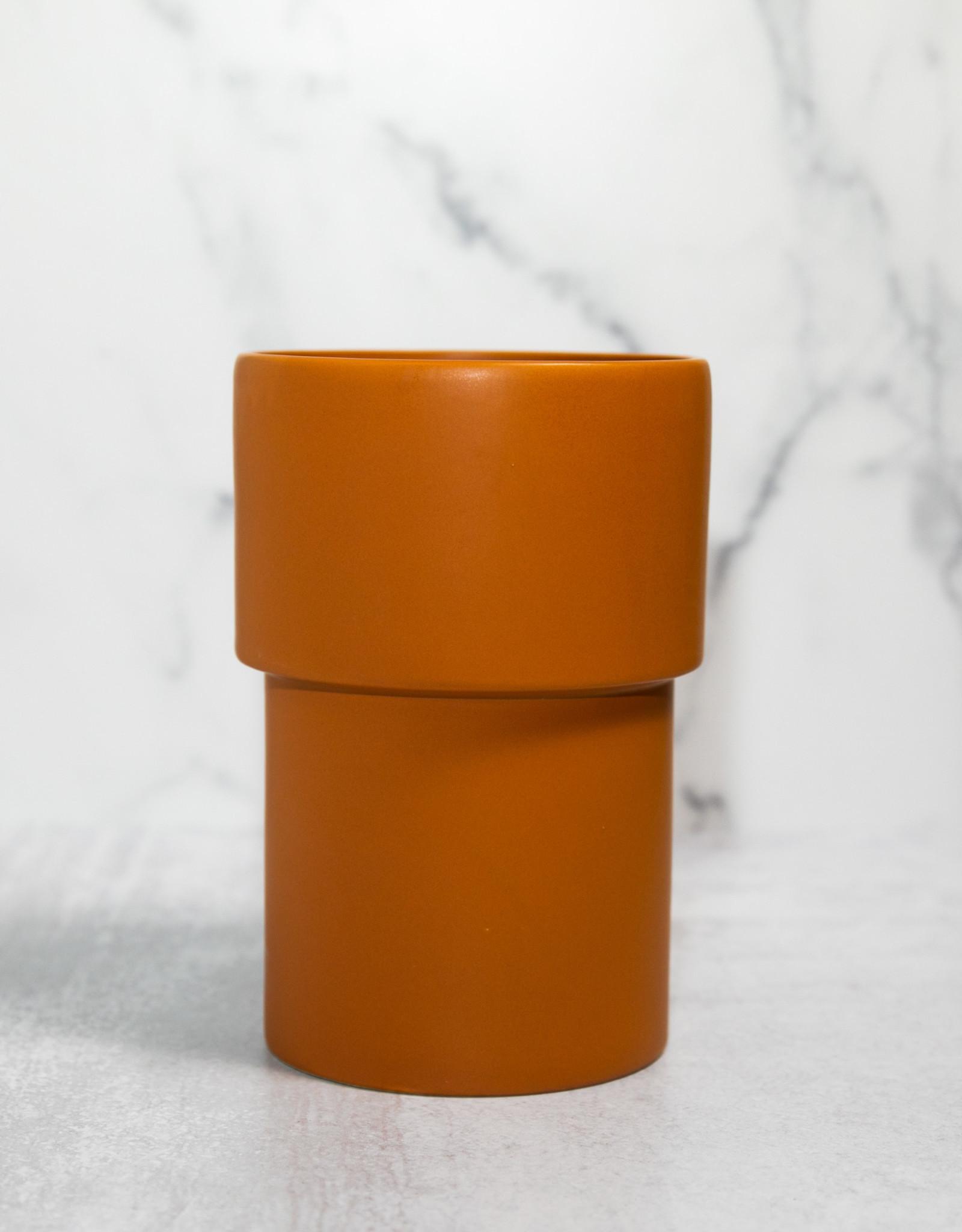 Vermillion Footed Vase