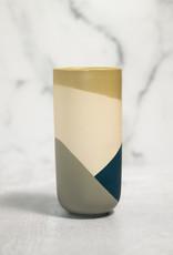 Art Deco Vase - Blue Tall