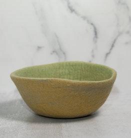 Indaba Fair Trade Felt Bowl - Citrus